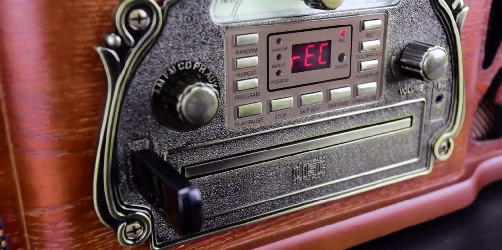 How to Record Vinyl Records to USB/MP3 – Electrohome Wellington (EANOS502)